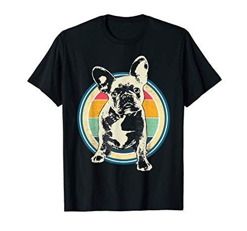 French Bulldog Vintage Style T-Shirt Gift Idea