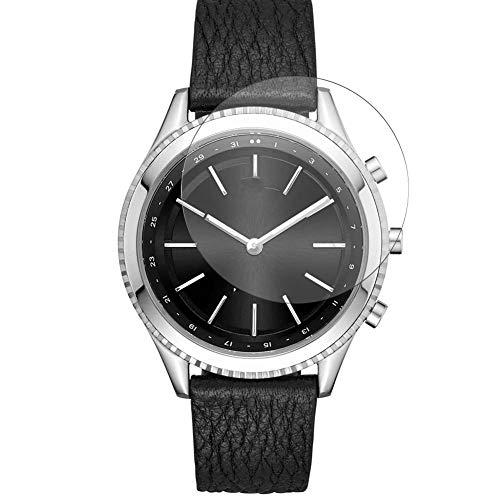Vaxson 3 Stück 9H Panzerglasfolie, kompatibel mit DKNY Minute 38mm Smartwatch Hybrid Watch, Panzerglas Schutzfolie Displayschutzfolie Bildschirmschutz