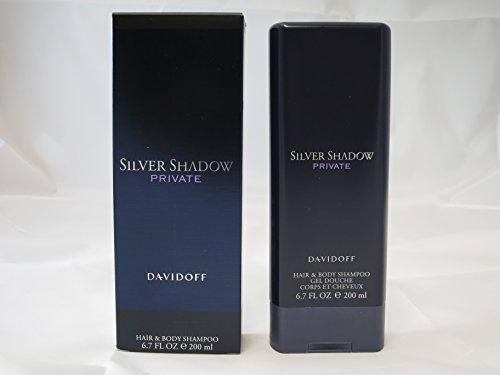 Silver Shadow Private von Davidoff - Shower Gel 200 ml