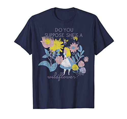 Disney Alice In Wonderland Do You Suppose She's A Wildflower T-Shirt