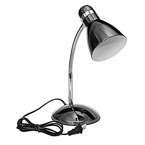 Lámpara de escritorio portátil Lámpara de mesa de luz de lectura de cabecera Interruptor de encendido/apagado Ángulo de iluminación interior Lámparas de escritorio de oficina en casa ajustables 220V