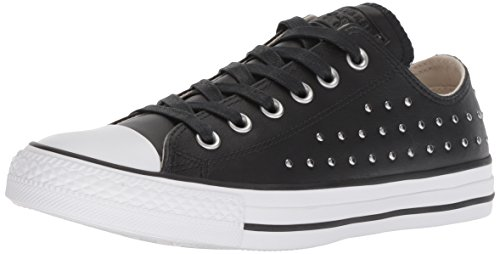 Converse Chuck Ii Shield Hi Top - Zapatillas de Tela para mujer negro negro, color negro, talla 35.5 EU (Ropa)