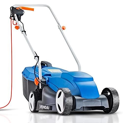 Hyundai 32cm Lightweight Rotary Electric Lawn Mower, 320mm Cutting...