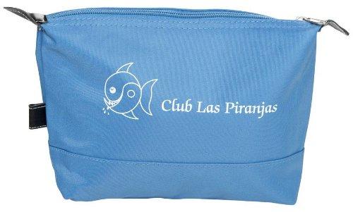 Preisvergleich Produktbild Club Las Piranjas® Kosmetiktasche 24×17×5 cm,  blau