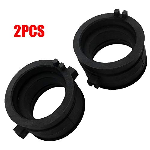 Aokus Pack of 2 New Carburetor Carb Intake Manifold Boots For Honda VT600 VT750 Shadow 16211-MAW-600