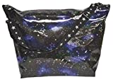 iscream 'Constellation' Holographic 23.5' x 16' x 9' Weekender Travel Tote Bag with Adjustable Strap