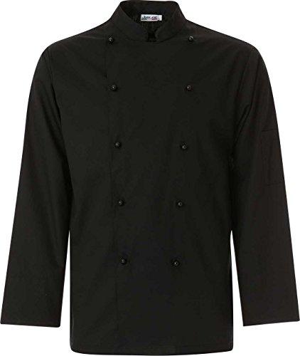 Chaqueta Cuoco Job col. Negro Talla XS - 4XL Negro  XXL