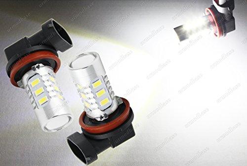 urmodbase Xenon Blanco H8 LED SMD Fog DRL Spot Driving Lamp Bombillas 12 V 24 V