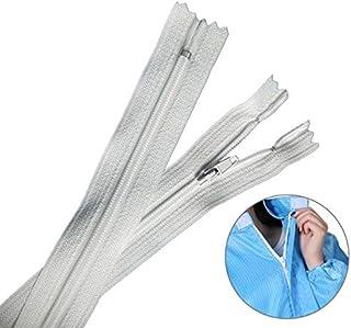 Apparel Accessories 100 PCS Nylon Zipper Clothing Zipper Strip, Length:80cm Apparel Accessories