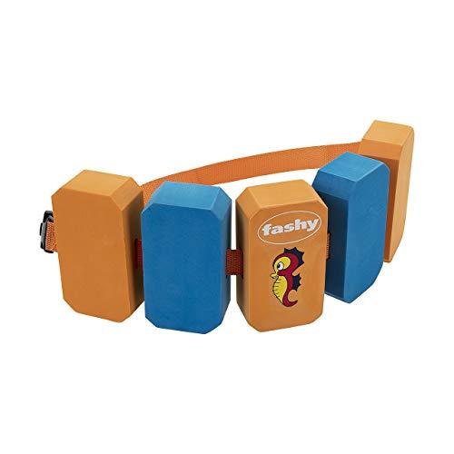 Fashy Kinder Schwimmgürtel Waterworld, orange/blau, 15-30kg, 8364 34