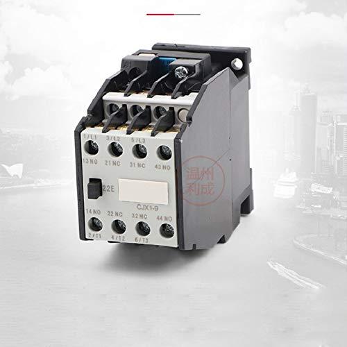 AC contactor CJX1-9/22 380v 220v 110v 36v 24v Silver Point, 2NO+2NC