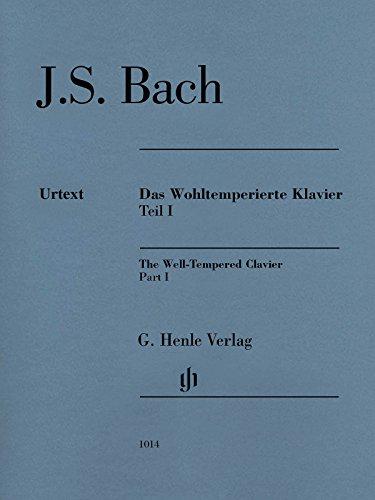 Das Wohltemperierte Klavier Band 1, Ausgabe ohne Fingersätze