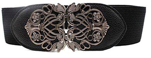 Vovotrade Nueva moda de aleacion flor vintage Accesorios cinturon de cuero...