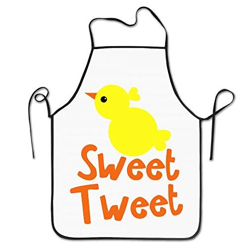 Pâques Sweet Tweet Petit Poussin Cool Funny Excellent Cadeau de maison pour barbecue de cuisine Cook Tablier de chef cuisiner professionnel adultes Bavoirs cadeaux