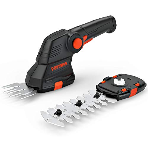 Great Deal! POPOMAN Cordless Grass Shear 7.2V Rechargeable Lithium-Ion Battery and Charger Included