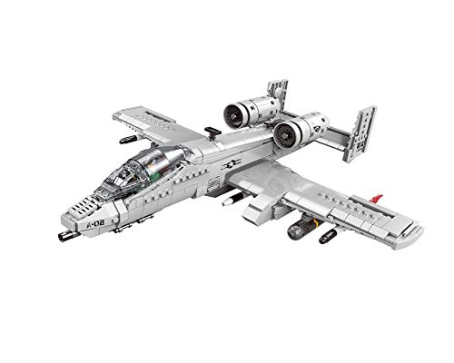 Military Series Set A-10 Attack Plane Building Kit (No Original Package)