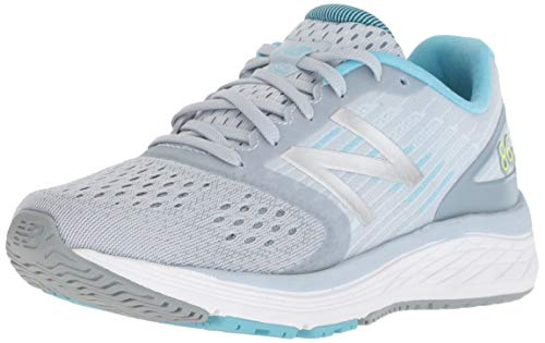 New Balance Girls' 860v9 Running Shoe, Light Cyclone/Cyclone, 7 M US Big Kid