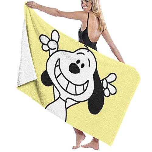 Winnie The Pooh Toalla de playa para piscina, 81,2 x 132,1 cm, para mujeres, niños, niños, adultos, hombres-Snoopy2