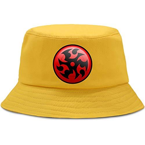 JXMK 56-58cm Anime Bucket Hat Moda e Interesante Sombrero de Pesca Ocio Sombrero de Pescador al Aire Libre Harajuku Hombres y Mujeres Protección Solar Sombrero de sombrilla
