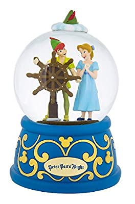 Disney Parks Peter Pan's Flight Musical Snowglobe
