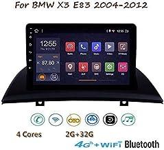 GLFDYC Android 8.1 GPS Navigation Stereo Radio, para BMW X3 E83 2004-2012, 9