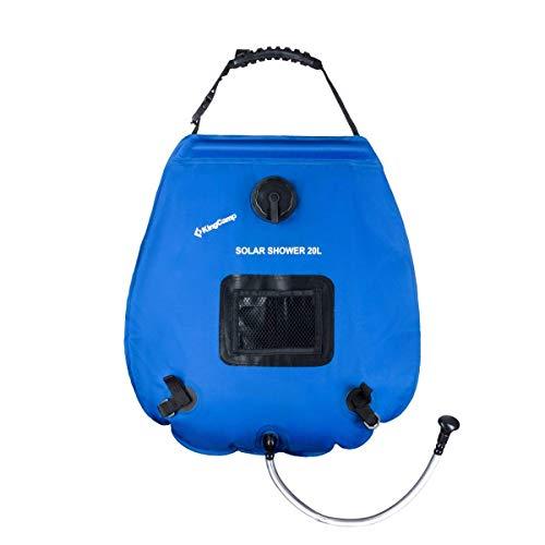 KingCamp Portable Outdoor Solar Shower Bag 20...