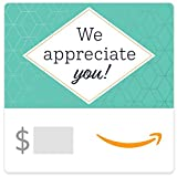 Amazon eGift Card - We Appreciate You- Hex pattern