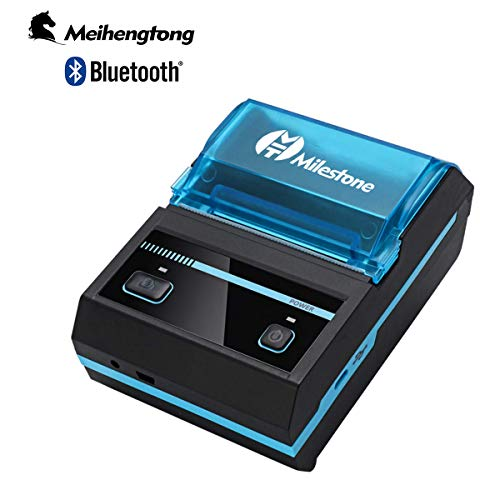 Great Features Of Mini Receipt Printer Bluetooth, Meihengtong Rechargeable Thermal Printer Bluetooth...