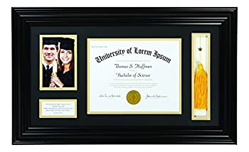 Creative Brands Heartfelt - Inspirational Keepsake Diploma and Photo Frame 15 x 25-Inch Jeremiah 29 11
