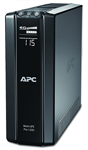 APC by Schneider Electric BR550GI Gruppo di Continuità UPS, 550 VA, AVR, 6 Uscite IEC-C13, USB, Shutdown Software