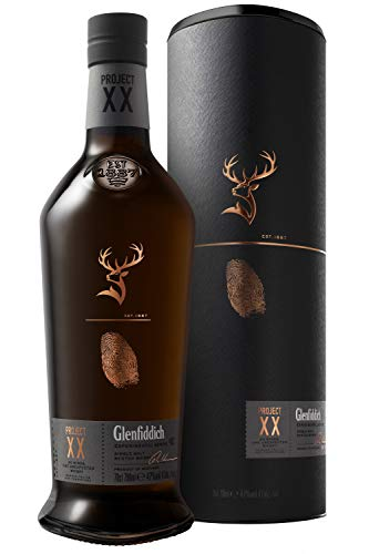 Glenfiddich Project XX Experimental Series Single Malt Scotch, 700 ml