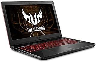 "Asus FX504 Thin & Light TUF Gaming Laptop, 15.6"" Full HD, 8th Gen Intel Core i7-8750H Processor, GeForce GTX 1050 Ti, 12GB DDR4 RAM, 1TB HDD, HDMI, WiFi, Bluetooth, Windows 10"