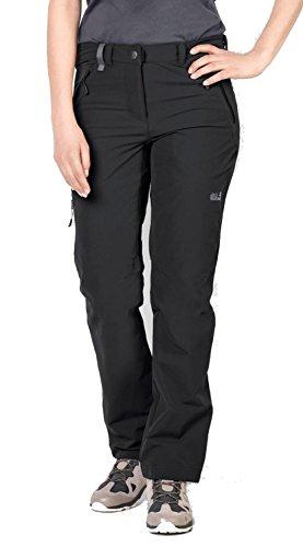 Jack Wolfskin Activate Xt - Pantaloni da Ragazza, Taglia 46, Colore: Nero