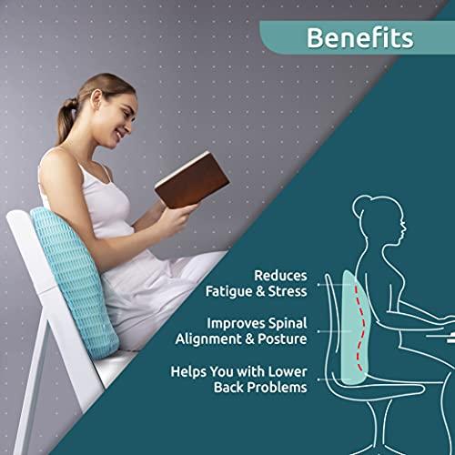 HealthSense Soft-Spot BC 21 Orthopedic Backrest Cushion