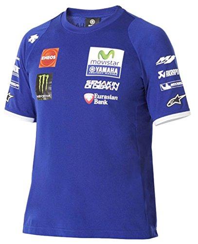 Yamaha - Camiseta - para Hombre Azul X-Large