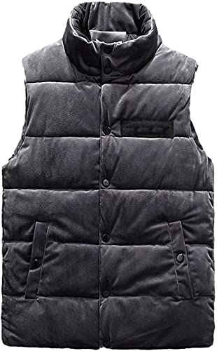 Hombres Casual Fleece Chaleco Invierno Grueso Cálido Sin Mangas Ejército Militar Chaqueta Otoño Chaleco