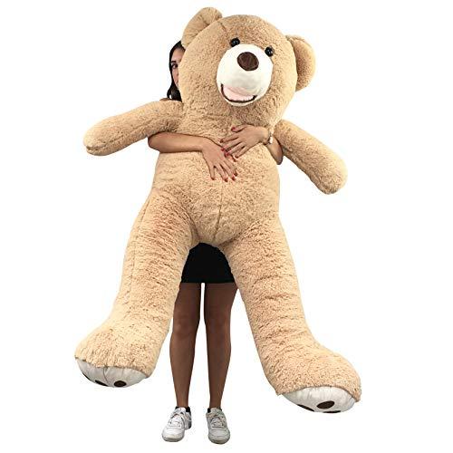 Banabear Lerosier Teddy trägt Riesenplüsch von 130 bis 340 cm !! Teddybär Teddybär Riesiger Bär (Hellbraun, 160 cm)
