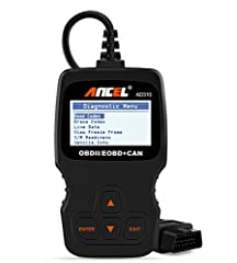 Classic design, fast scan and erase trouble codes, even a beginner can use this unit to read the error code, find out what the problem is and perhaps fix it. Save money and time. Works on MOST 1996 US-Based, 2000 EU-Based and Asian cars, and newer OB...