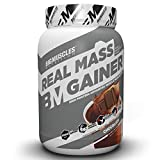 Bigmuscles Nutrition Real Mass Gainer [1Kg, Chocolate], Lean Whey Protein Muscle Mass Gainer