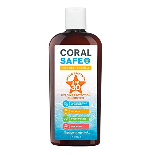Coral Safe All Natural Biodegradable Sunscreen