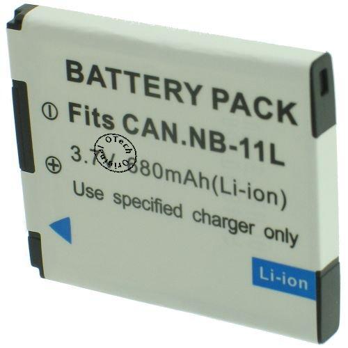 Batería compatible para Canon IXUS 132