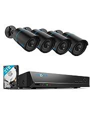 Reolink 5MP 8CH PoE CCTV Beveiligingscamera systeem