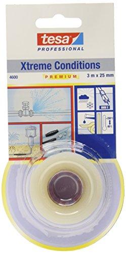 tesa 4600Selbstverschweißendes Klebeband für extreme Bedingungen, 25mm x 3m, transparent