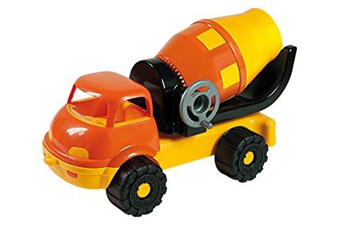 Androni Camion con Betoniera Ribaltabile Gioco in Plastica Estivo Estate 513, Multicolore, 8000796060457