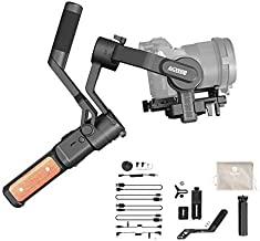 FeiyuTech AK2000s Handheld Gimbal Camera Stabilizer with Versatile Handle LCD Screen for DSLR Camera Sony a6300 a6400 a650...