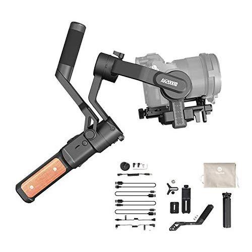 FeiyuTech AK2000s Handheld Gimbal Camera Stabilizer with Versatile Handle LCD Screen for DSLR Camera Sony a6300 a6400 a6500 Canon M50 EOS R Panasonic DC-GF9XGK DMC-LX100 Nikon Fujifilm