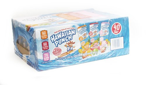 Hawaiian Punch 6.75 Oz. Drink Boxes Variety Pack (Pack of 40)