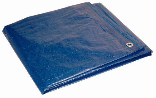 5x7 Multi-Purpose Blue Medium Duty DRY TOP Poly Tarp (5'x7')