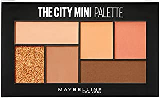 Maybelline New York The City Mini Eyeshadow Palette Makeup, Cocoa City, 0.14000000000000001 Ounce