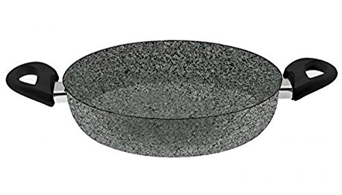 BALLARINI Cortina Granitium Bratpfanne 2 Griffe, Grau, Durchmesser 28 cm